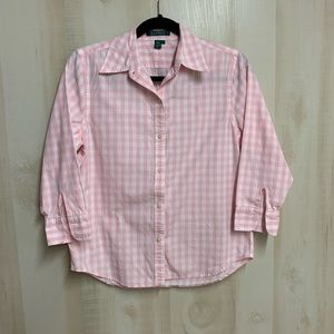 ✨3 for 20✨Ralph Lauren Button Down Size Small